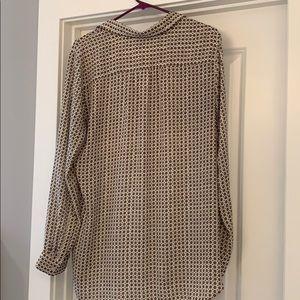 LOFT Tops - LOFT long sleeve blouse, EUC Size Lg